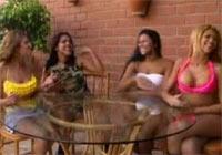 Outdoor Bisexorgie mit brasilianischen Chickas