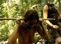 Geiles Fetisch Camp im Wald