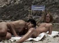 Amateur Voyeur Sex am FKK Strand