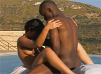 Ebony Neger Outdoor Amateur Sex
