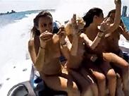 Gruppensex auf dem Boot