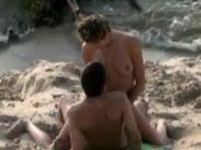 Wilder Strand Fick in der Öffentlichkeit
