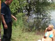 Geile Fotzen findet man am See