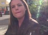 Tschechische Studentin zum Blasen überredet