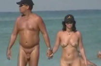 Nackte am Strand
