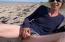 In den Sand pissen